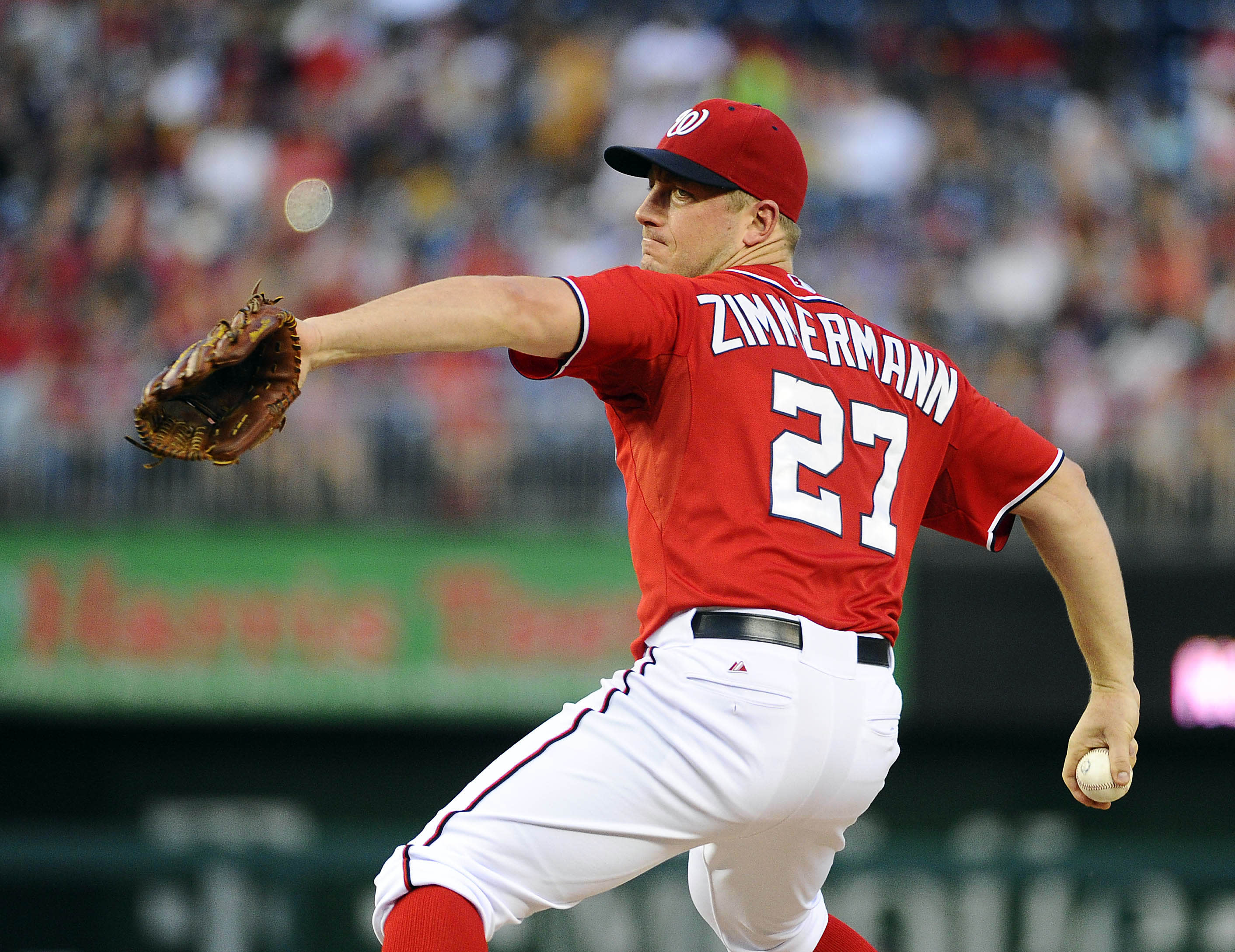 Zimmermann, Nats bounce back to top Marlins