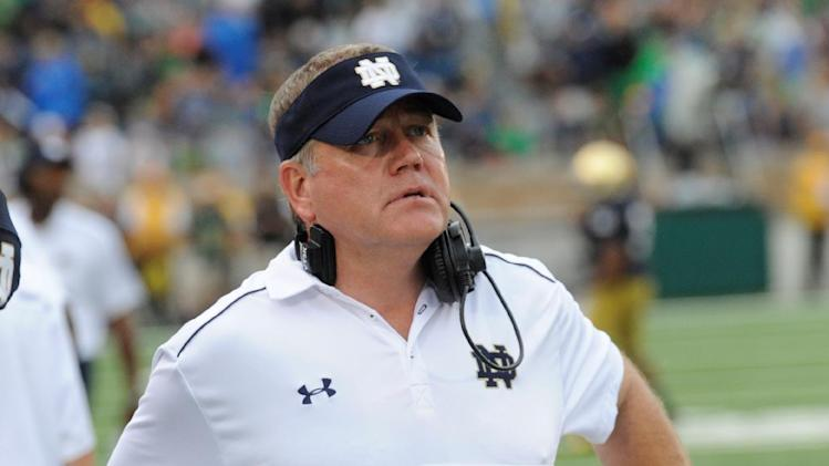 Kelly: 5 Notre Dame players remain out for now