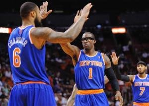 NBA: New York Knicks at Miami Heat
