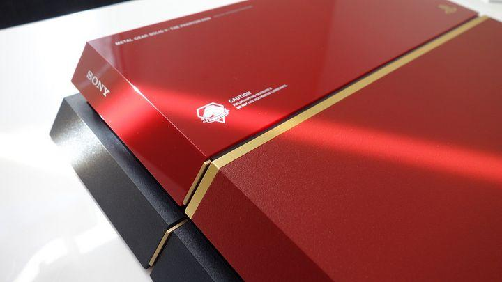 There's a typo stamped on the Metal Gear Solid 5 special edition PS4