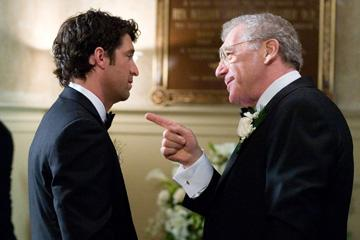 Patrick Dempsey and Sydney Pollack in Columbia Pictures' Made of Honor