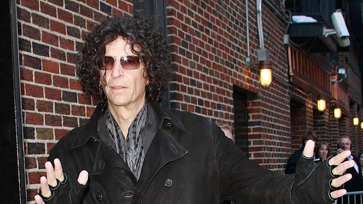 Howard Stern Letterman