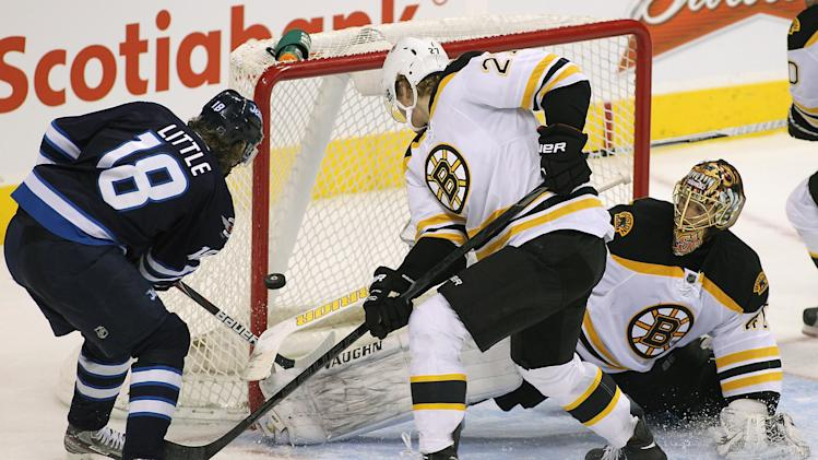Boston Bruins v Winnipeg Jets