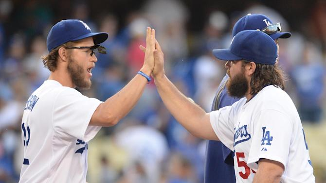 Kershaw K's 13 as Dodgers blast Cardinals 6-0