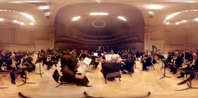 Google's 360-Degree Views Drop You in the Middle of Symphonies and Plays