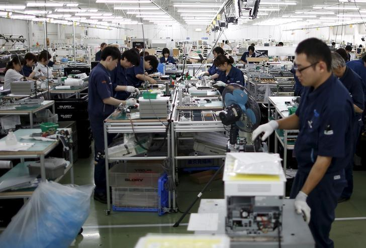 Japan's October factory output seen up for second straight month