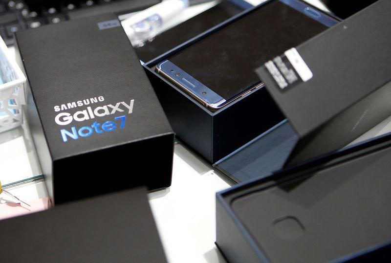 Samsung Electronics says battery defects caused Note 7 fires