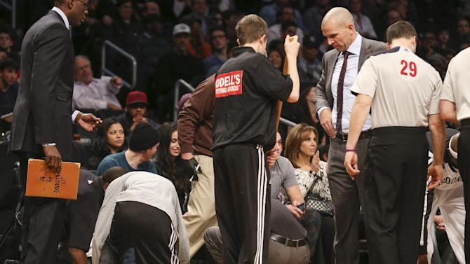 Kidd: Spilled drink was about 'trying to win'