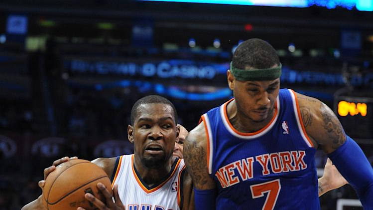 NBA: New York Knicks at Oklahoma City Thunder