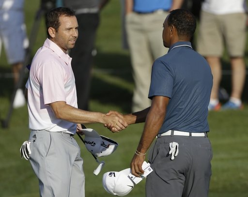 Just say 'no' to make-up between Woods, Garcia