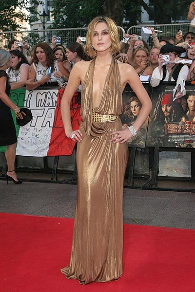 At the Pirates of The Caribbean 2: At World's End premiere in 2006