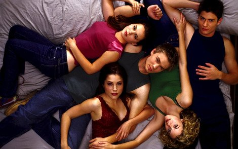 The original cast of 'One Tree Hill'