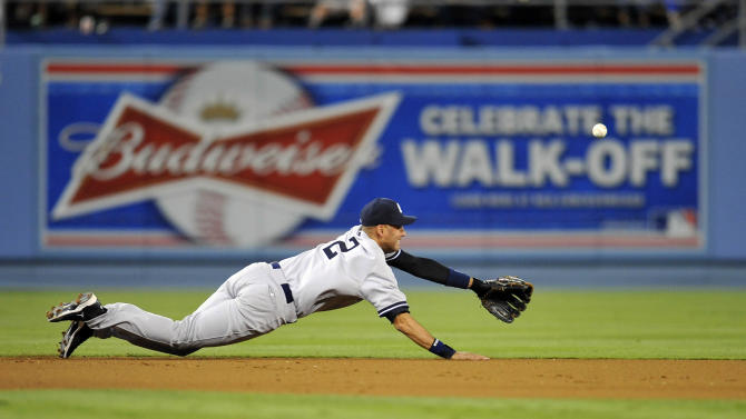 MLB: New York Yankees at Los Angeles Dodgers