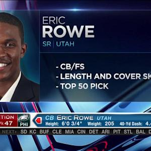 Philadelphia Eagles pick cornerback Eric Rowe No. 47 in 2015 NFL Draft