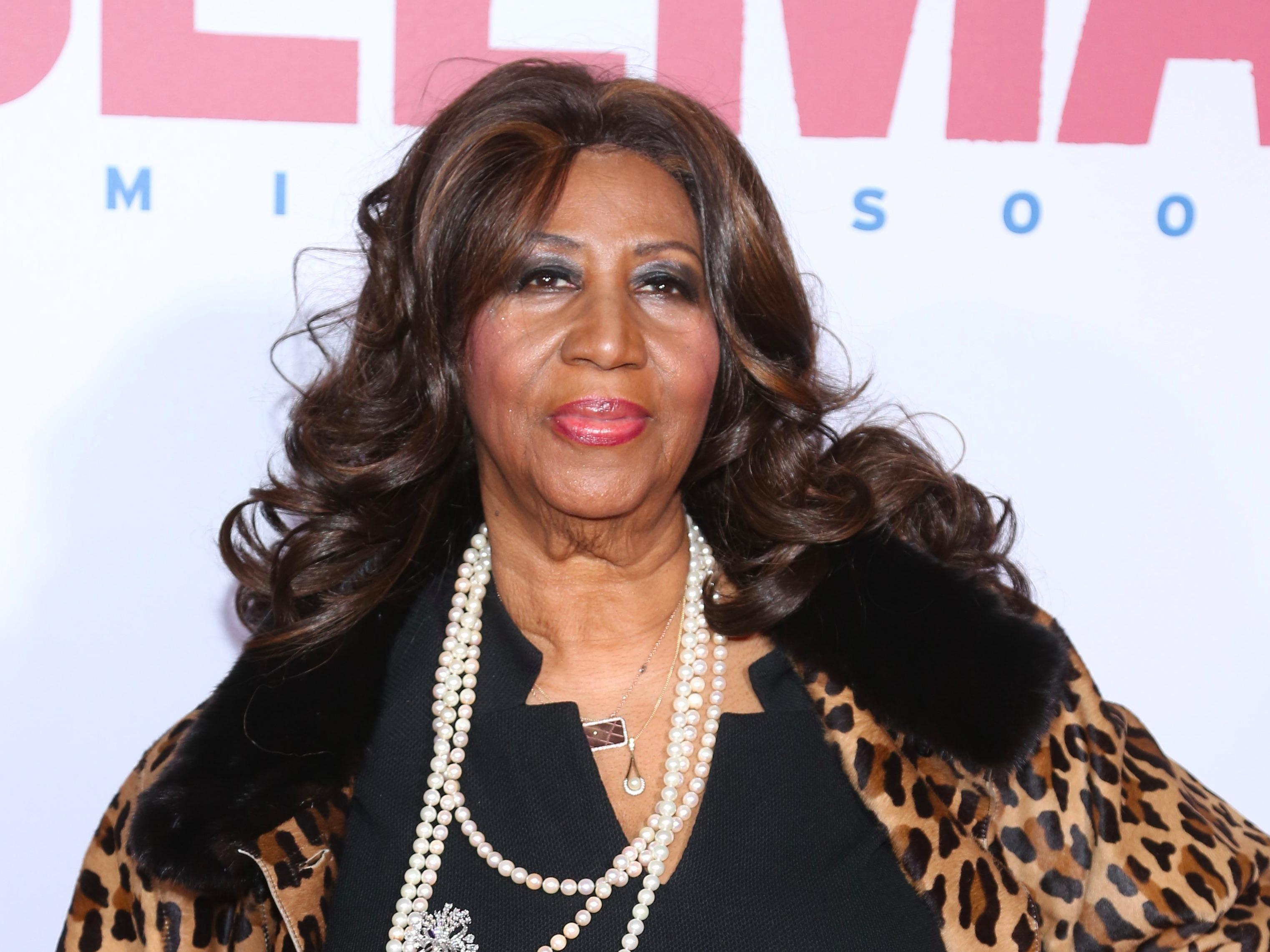 Aretha Franklin sues to stop a documentary on her from being shown at a major film festival