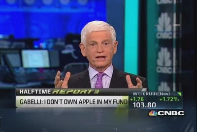 Gabelli: We like Apple's product, but ...