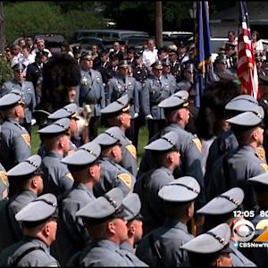 Hundreds Attend Funeral Of Christopher Goodell, Waldwick, N.J. Police Officer Killed In Crash