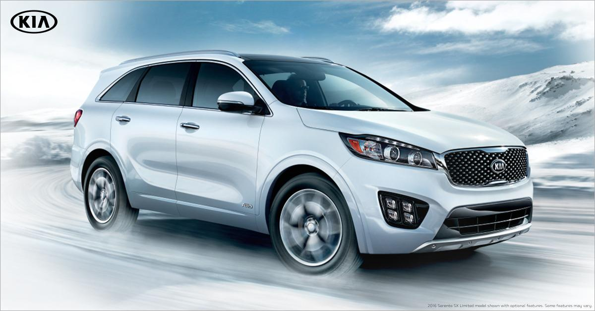 The All-New 2016 Kia Sorento