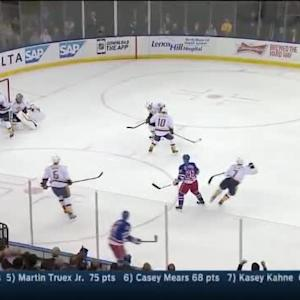 Cam Talbot Save on Matt Cullen (15:56/1st)
