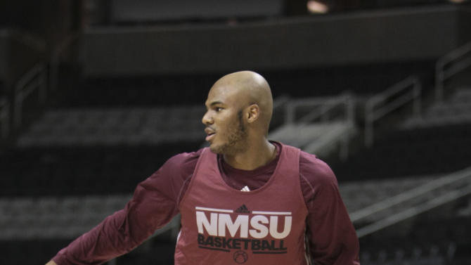 NCAA Basketball: NCAA Tournament-New Mexico State Practice