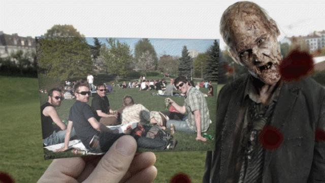 'The Walking Dead' Gets 'Dear Photograph' Treatment [PICS]
