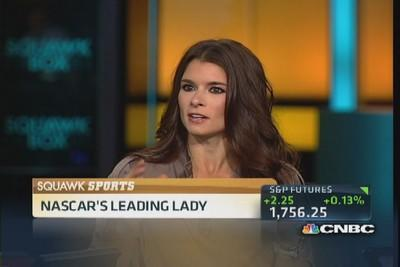 NASCAR's Danica Patrick rolls out new products