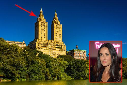 Celebrity Real Estate: Demi Moore Still Wants $75M for Her San Remo Penthouse