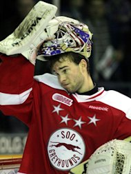 OHL: Jack Campbell Taking Soo Greyhounds' Struggles Hard