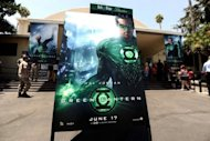 "A special screening of the ""Green Lantern"" film in 2011. He might be Green Lantern, but one of America's most enduring comic book characters is turning rainbow colored as the latest superhero to come out as gay, DC Comics announced"