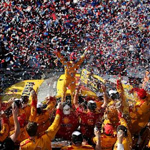 Daytona 500 win finally sinks in for Logano