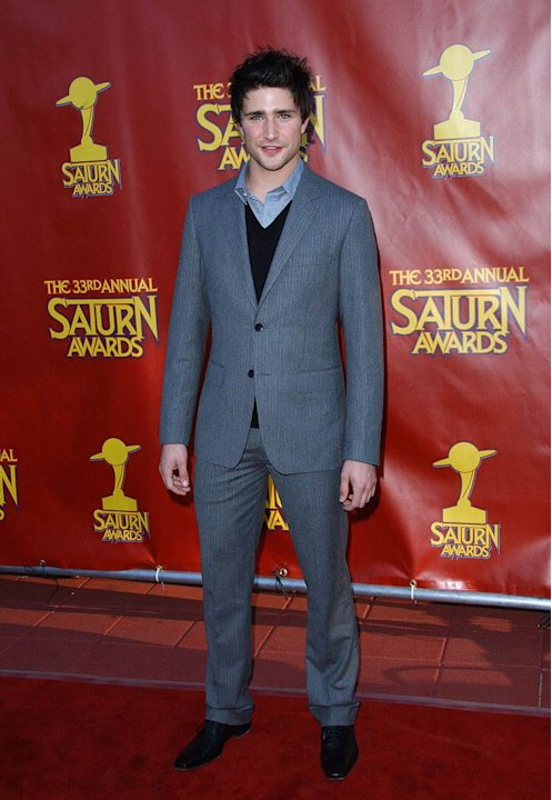 Matt Dallas at The 33rd Annual Saturn Awards.