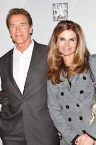 Former California Goveror Arnold Schwarzenegger and his wife, Maria Shriver, in Los Angeles on February 18, 2011. The couple just announced that they are separating after 25 years of marriage. (Photo by Chelsea Lauren/FilmMagic/Getty Images)