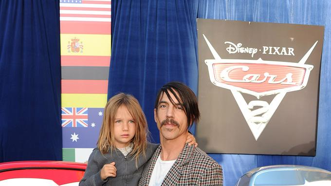 Cars 2 LA Premiere 2011 Anthony Kiedis
