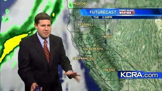 David's noon update: dry for today and most of tomorrow but the rain is approaching