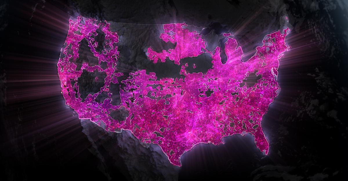 T-Mobile has 2X the LTE coverage in the last year.