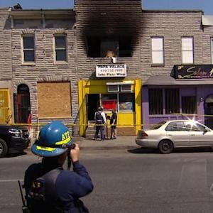 Feds begin investigation into Baltimore fires