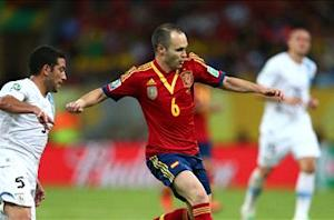 Iniesta: Spain is on the right track