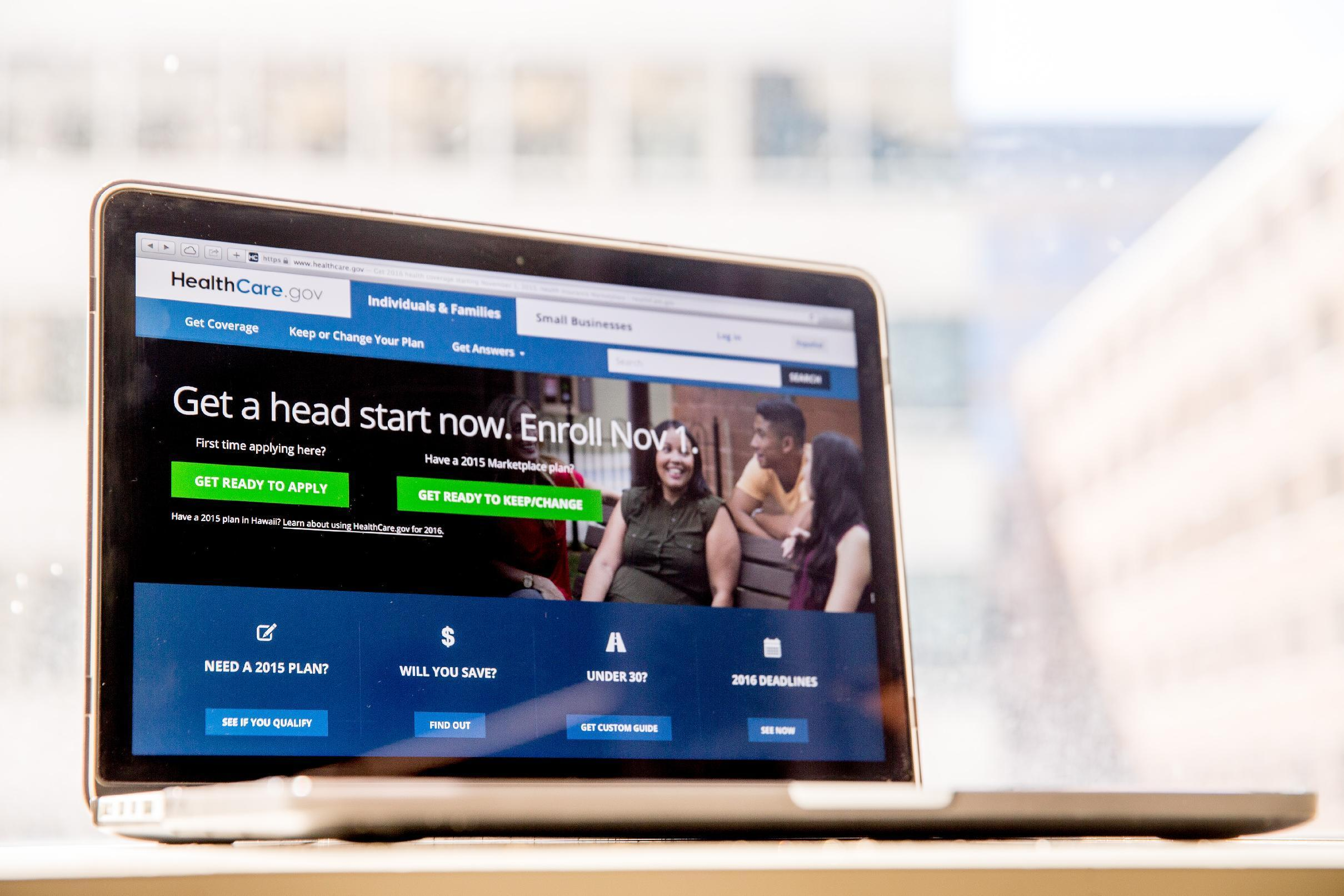 APNewsBreak: Gov't health insurance website getting upgrades