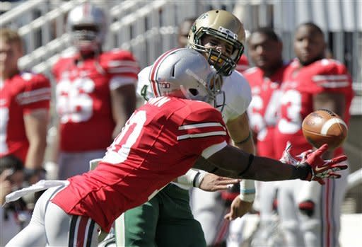 Miller's TD helps No. 16 Buckeyes beat UAB 29-15