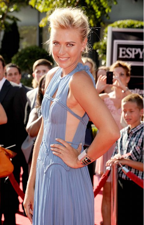 Mara Sharapova en los Espy