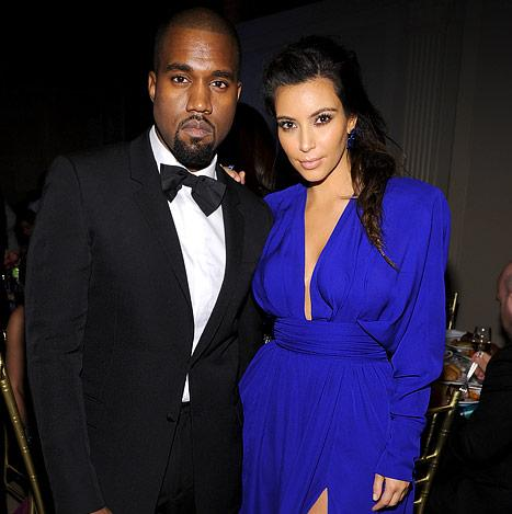 Kanye West Surprises Kim Kardashian With Birthday Cake at NYC Event