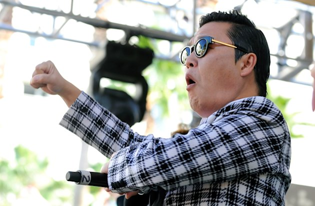 Psy Performs At The Hard Rock's Rehab Pool Party In Las Vegas