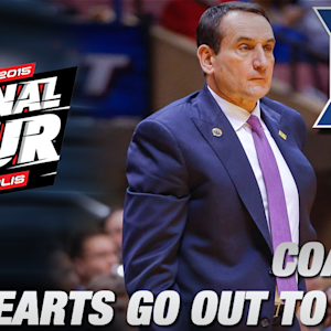 Duke's Coach K Says Hearts, Thoughts and Prayers Go Out To Mike Brey