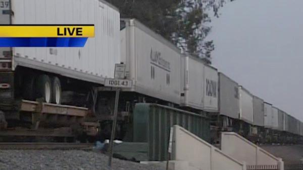 Train accident in Central Fresno, 1 dead, 1 injured