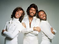 In this January 1979 file photo, the British pop group the Bee Gees, from left, Robin Gibb, Barry Gibb and Maurice Gibb, pose for photographers, somewhere in England. A representative said on Sunday, May 20, 2012, that Robin Gibb has died. He was 62. (AP Photo/File)