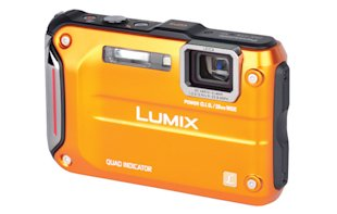 Rugged point-and-shoot cameras