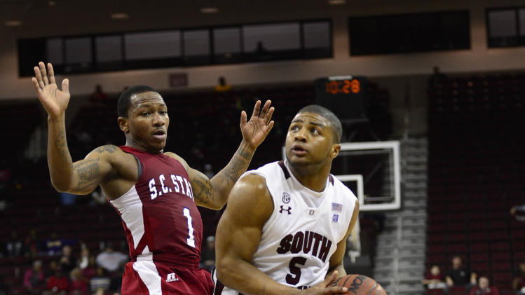 NCAA Basketball: South Carolina State at South Carolina