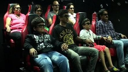 Kashmir gets its first 7D theater