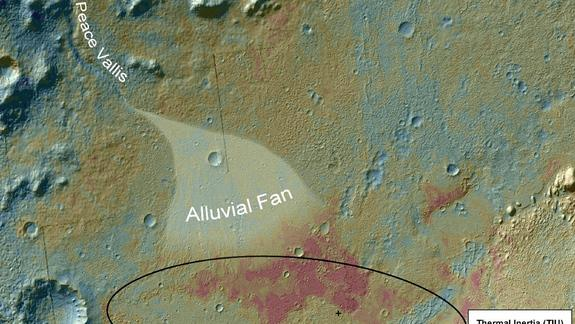 Mars Rover Finds Ancient Streambed Where Water Once Flowed