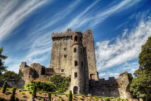 'Kiss Me, I'm Irish' Originates from Kissing the Blarney Stone